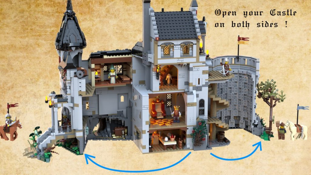 LEGO Ideas The Castle Of Brickwood Forest 2