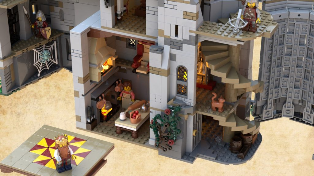 LEGO Ideas The Castle Of Brickwood Forest 3