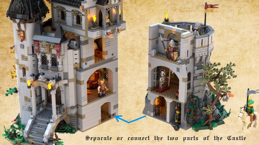 LEGO Ideas The Castle Of Brickwood Forest 5