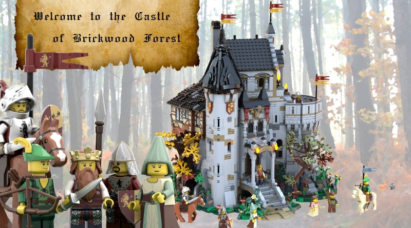 LEGO Ideas The Castle Of Brickwood Forest Featured