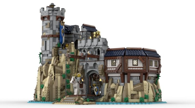 LEGO Ideas The Kings Castle featured