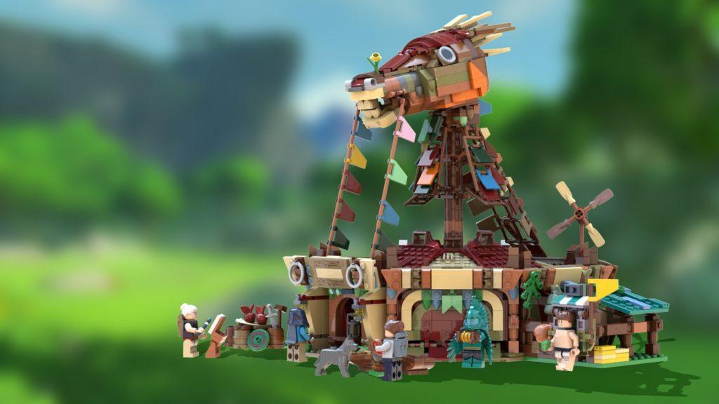 LEGO Ideas The Legend Of Zelda 2