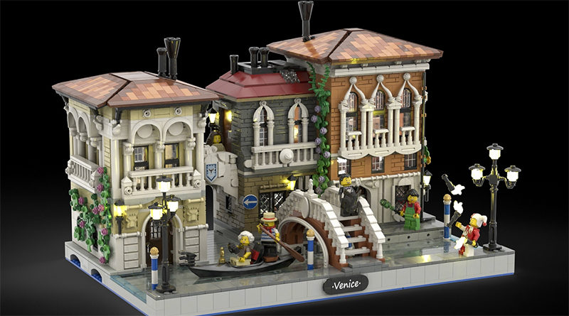 LEGO Ideas The Little Venice Featured 800x445