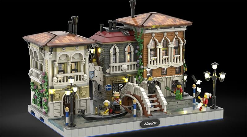 LEGO Ideas The Little Venice Featured