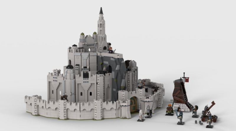 LEGO Ideas The Lord of the Rings Minas Tirith featured