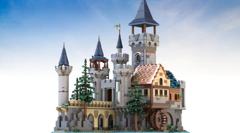 LEGO Ideas The Medieval Fortress featured