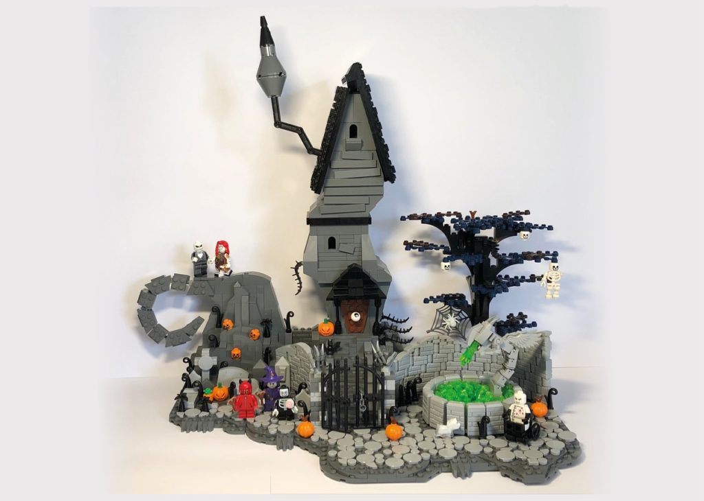 LEGO Ideas The Nightmare Before Christmas 1