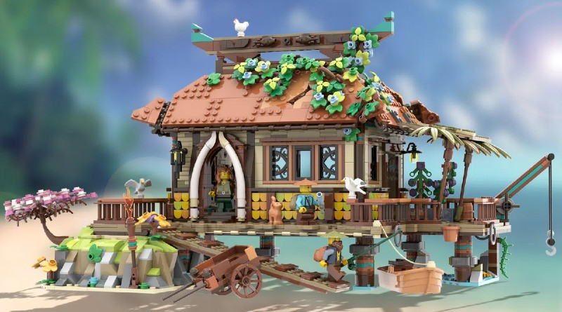 LEGO Ideas The Ocean House Featured
