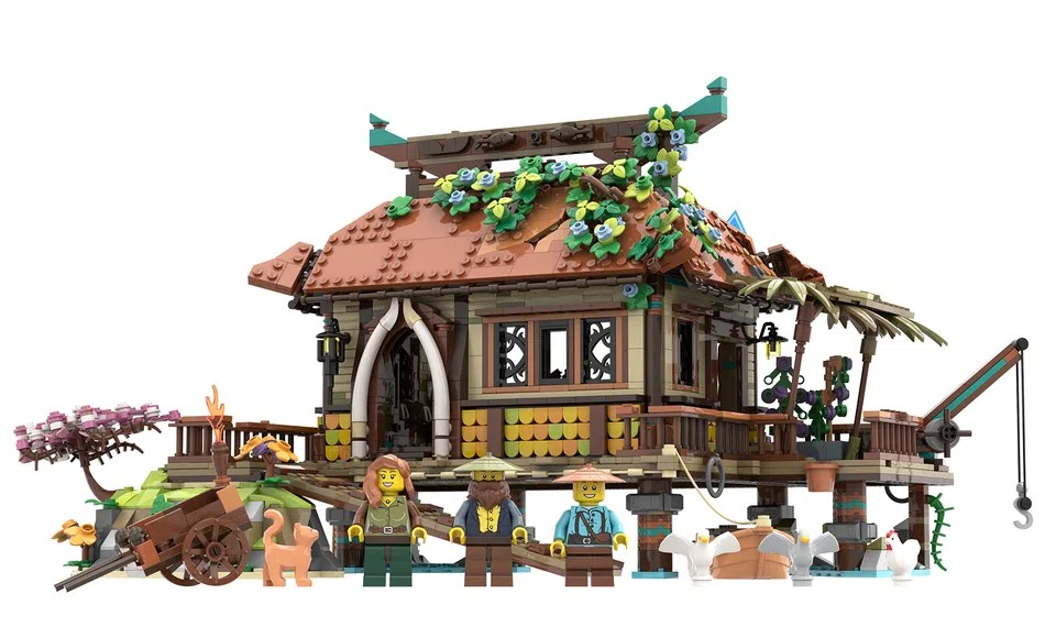 LEGO Ideas The Ocean House