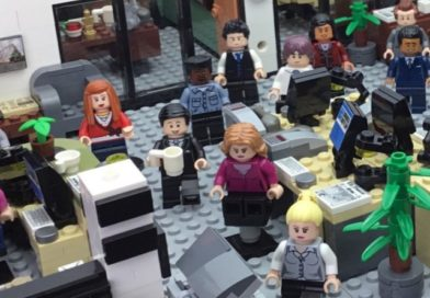 Yet another The Office project has reached 10K on LEGO Ideas
