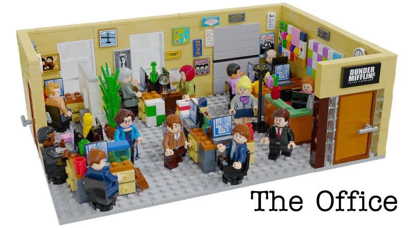 LEGO Ideas The Office Featured