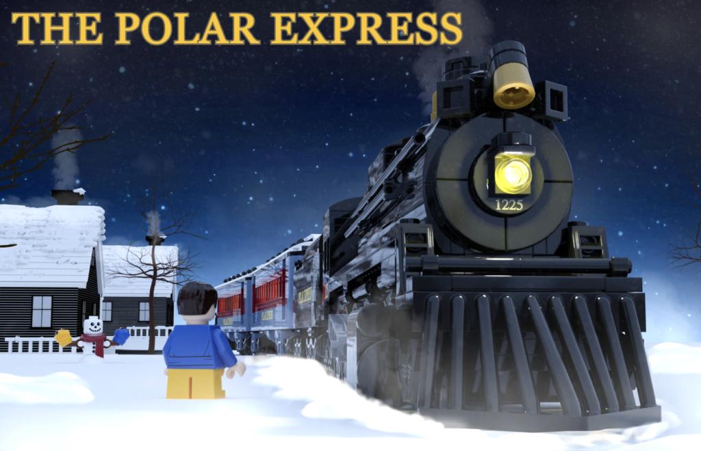 LEGO Ideas The Polar Express 1