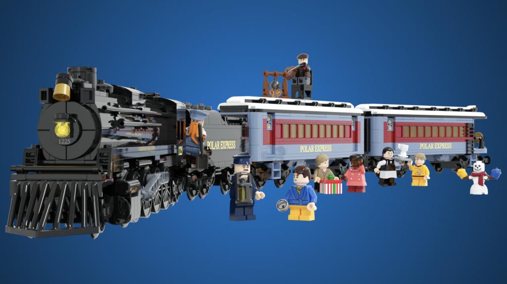 LEGO Ideas The Polar Express 2