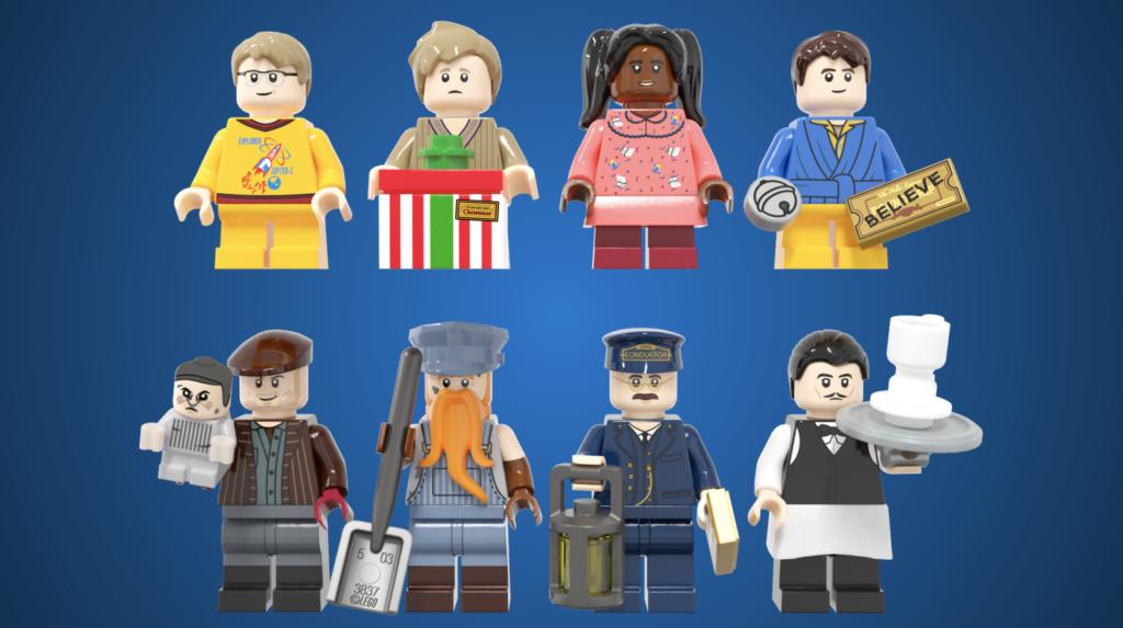LEGO Ideas The Polar Express 3