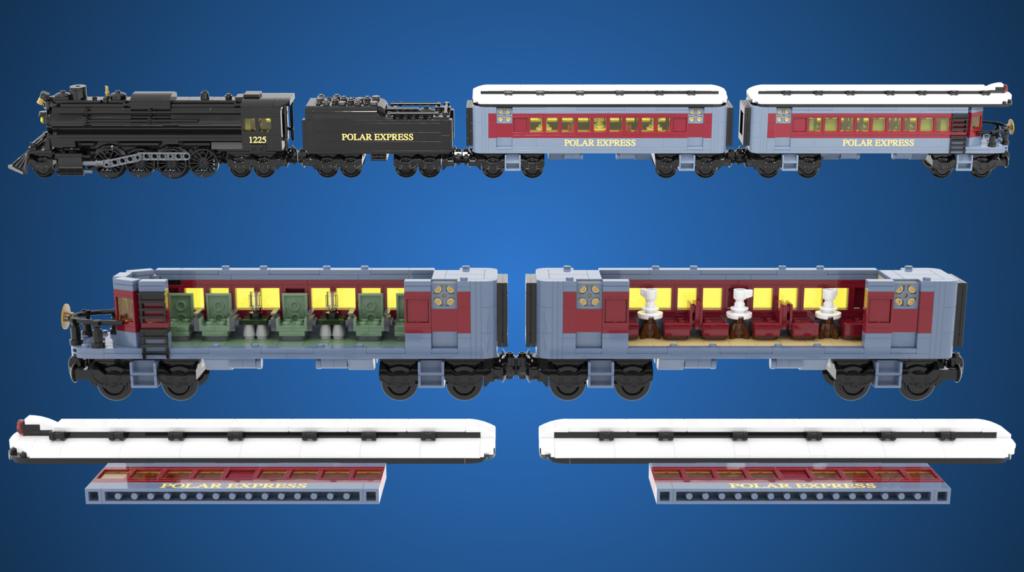 LEGO Ideas The Polar Express 4
