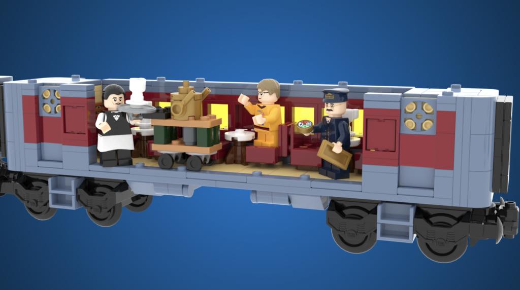 LEGO Ideas The Polar Express 5