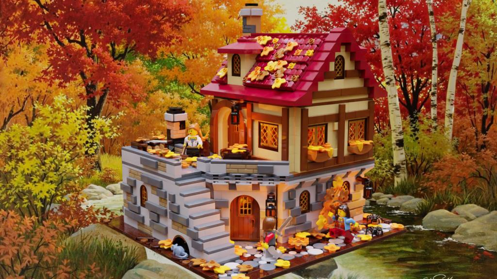 LEGO Ideas The Tavern Under the Snow 2