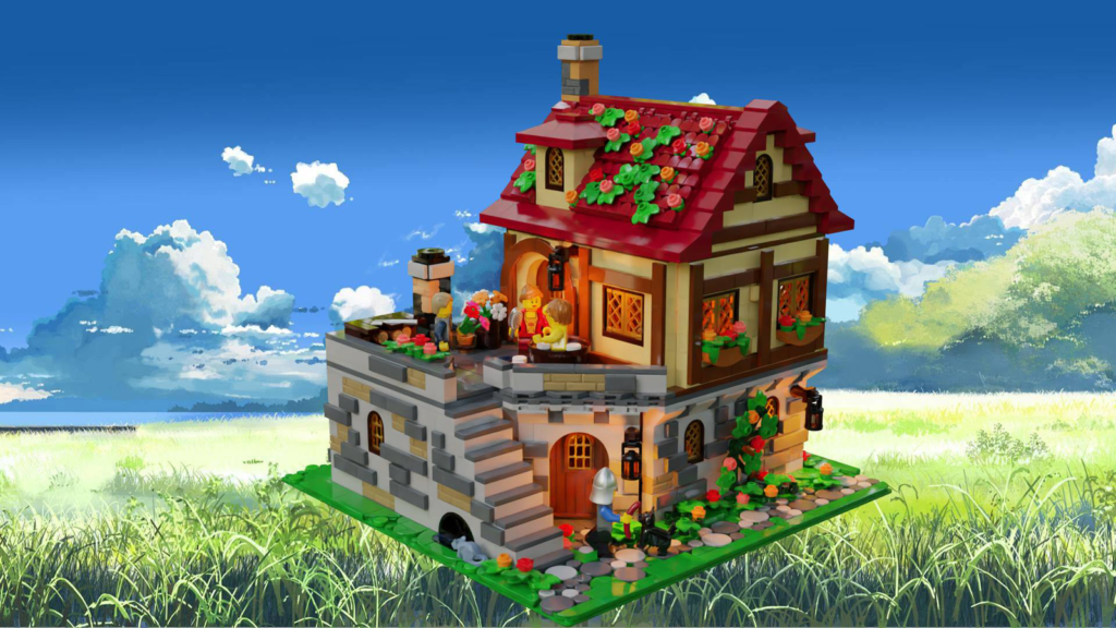 LEGO Ideas The Tavern Under the Snow 3
