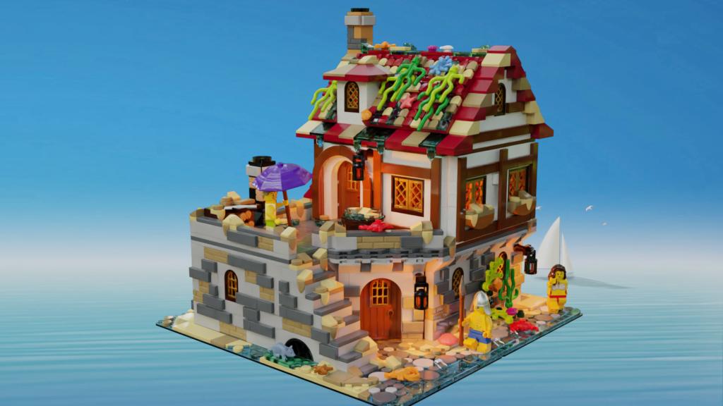 LEGO Ideas The Tavern Under the Snow 4