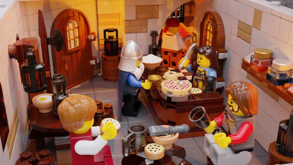 LEGO Ideas The Tavern Under the Snow 5