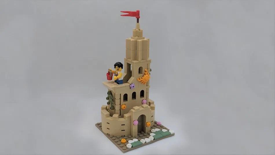 LEGO Ideas The Ultimate Sandcastle