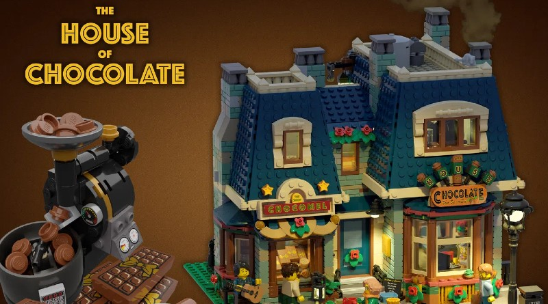 LEGO Ideas The House Of Chocolate Featured