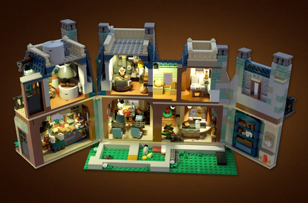 LEGO Ideas The House Of Chocolate Interior 1