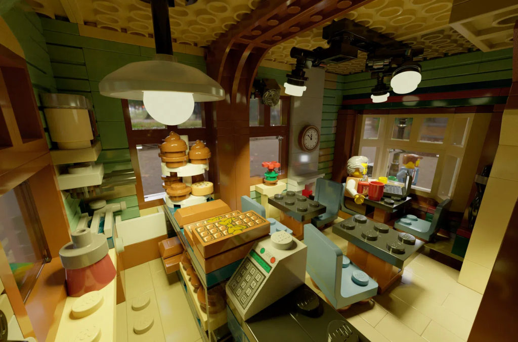 LEGO Ideas The House Of Chocolate Interior 2