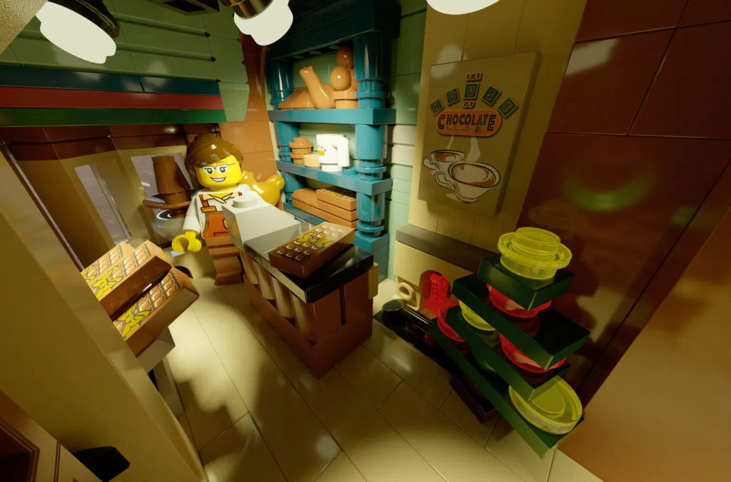 LEGO Ideas The House Of Chocolate Interior 3