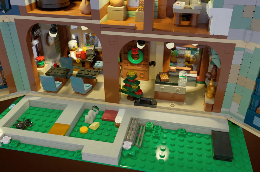 LEGO Ideas The House Of Chocolate Interior 4