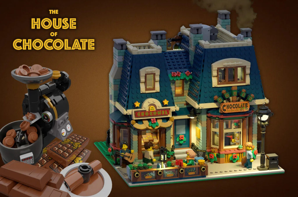 LEGO Ideas The House Of Chocolate