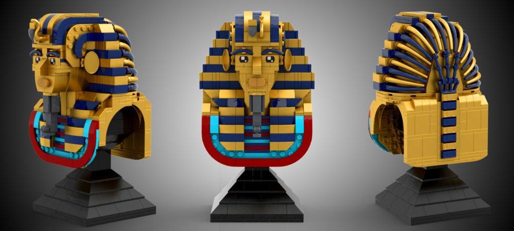 LEGO Ideas Tutankhamun Old