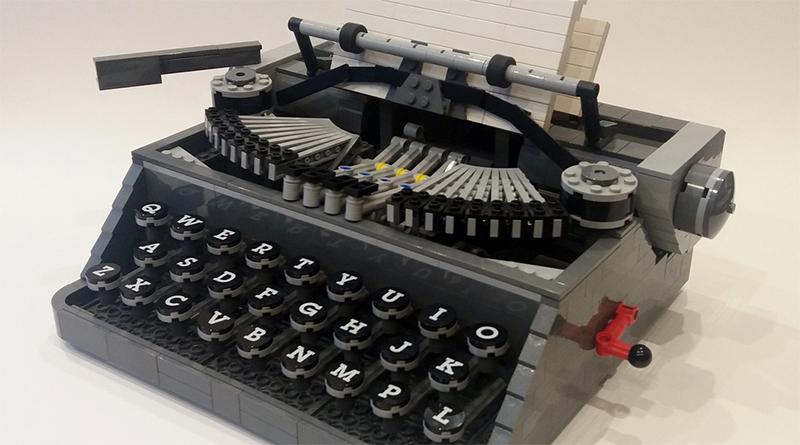 LEGO Ideas 21327 Typewriter rumoured for summer 2021 release