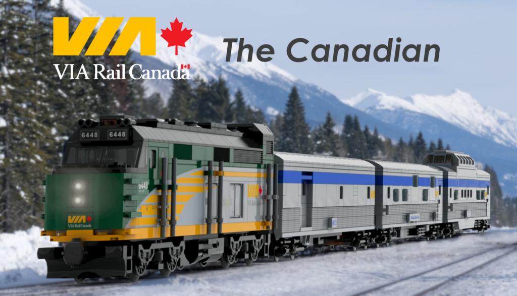 LEGO Ideas VIA Rail Canada – The Canadian 1