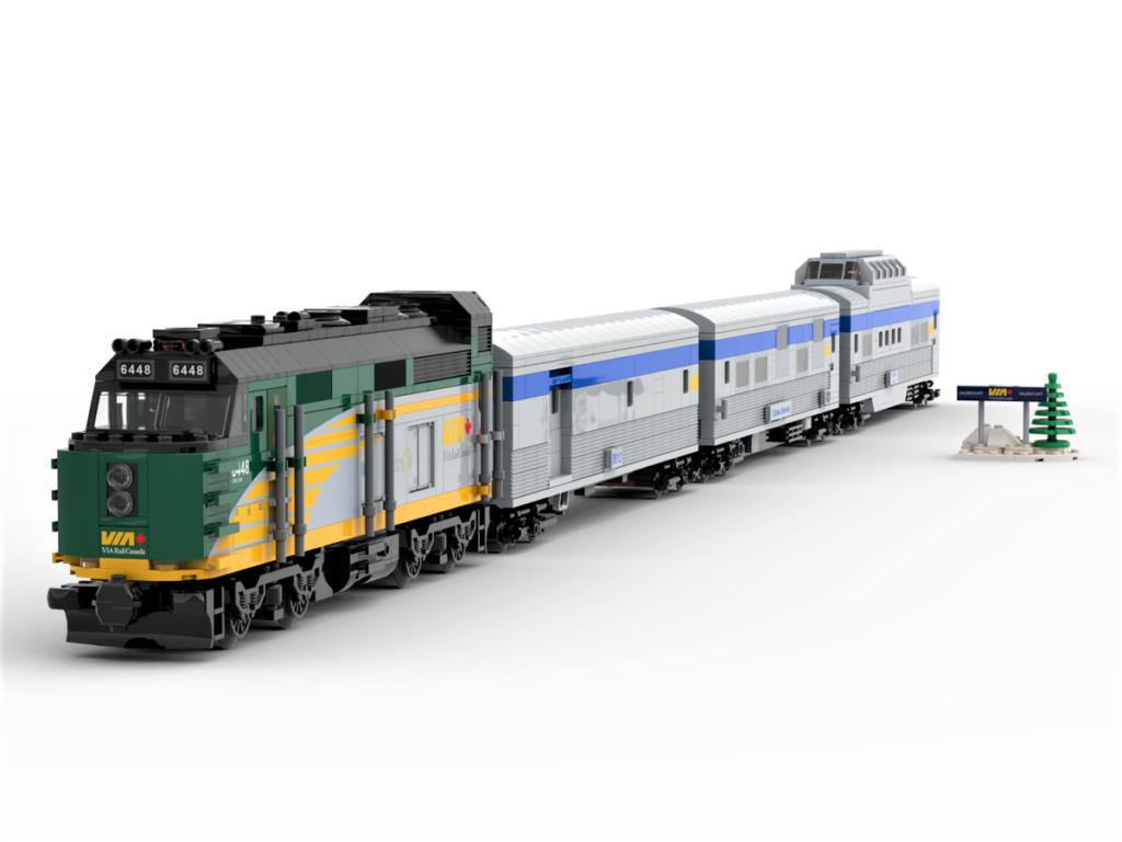 LEGO Ideas VIA Rail Canada – The Canadian 2