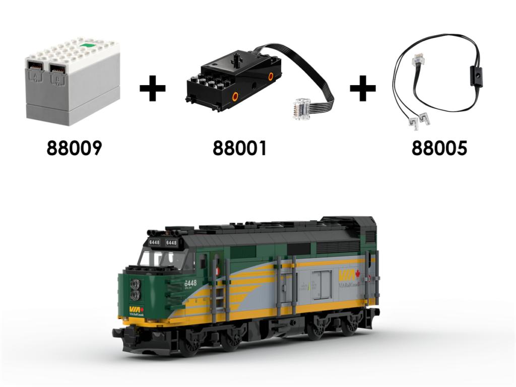 LEGO Ideas VIA Rail Canada – The Canadian 4