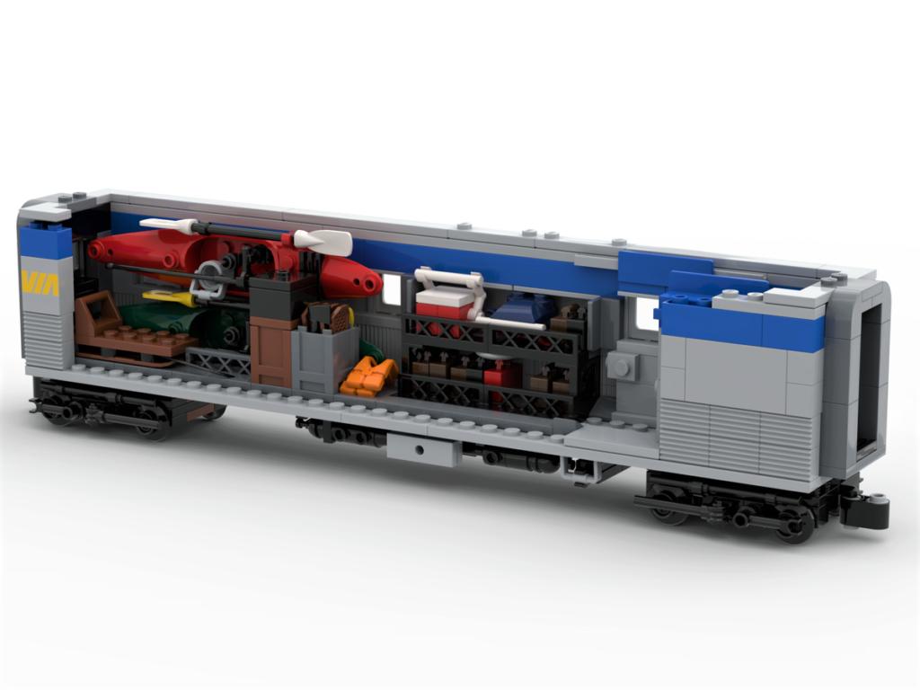 LEGO Ideas VIA Rail Canada – The Canadian 5