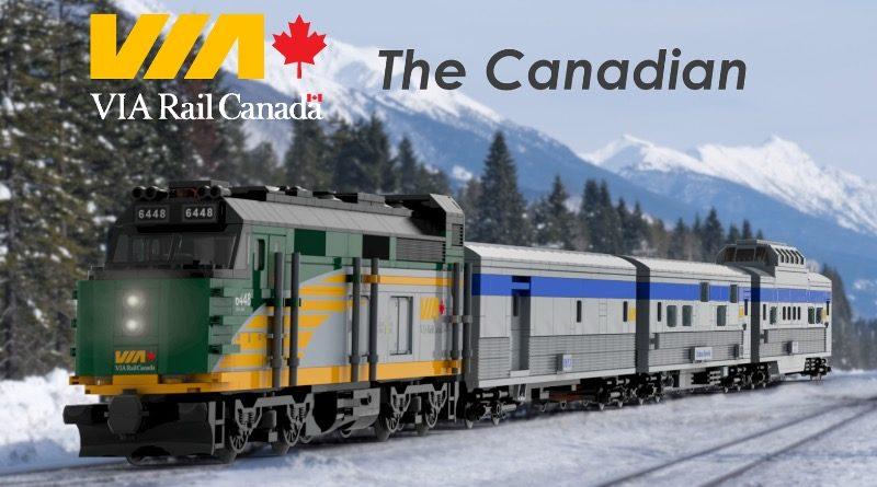 LEGO Ideas VIA Rail Canada – The Canadian featured