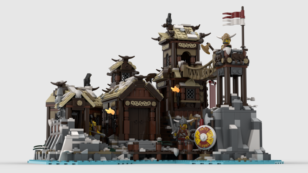 LEGO Ideas Viking Village 1