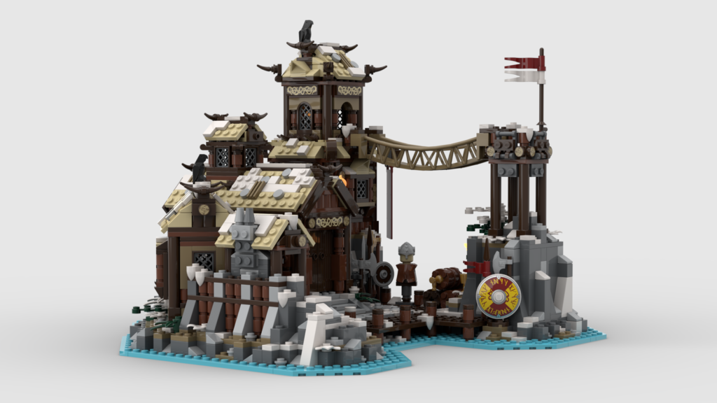 LEGO Ideas Viking Village 2