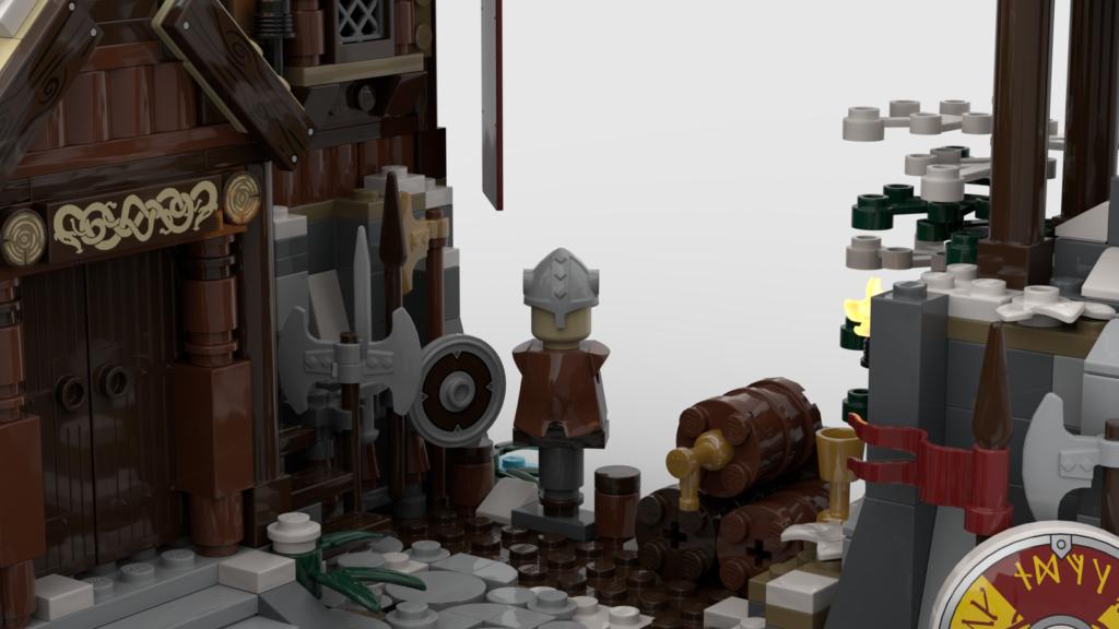 LEGO Ideas Viking Village 3