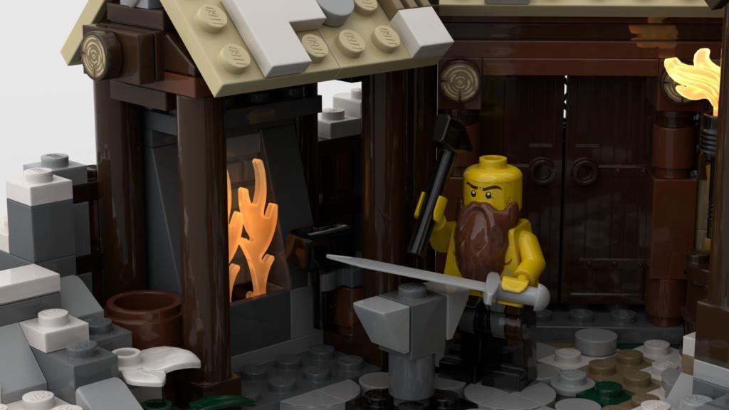 LEGO Ideas Viking Village 4