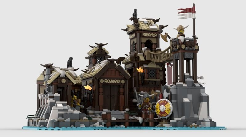 LEGO Ideas Viking Village Featured 800x445