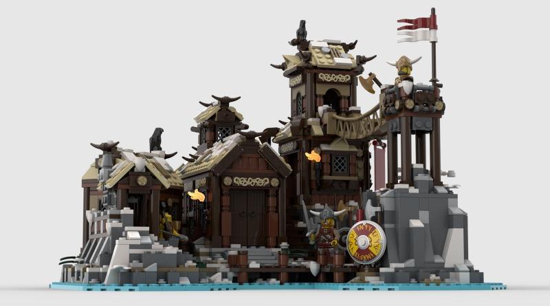 LEGO Ideas Viking Village Featured