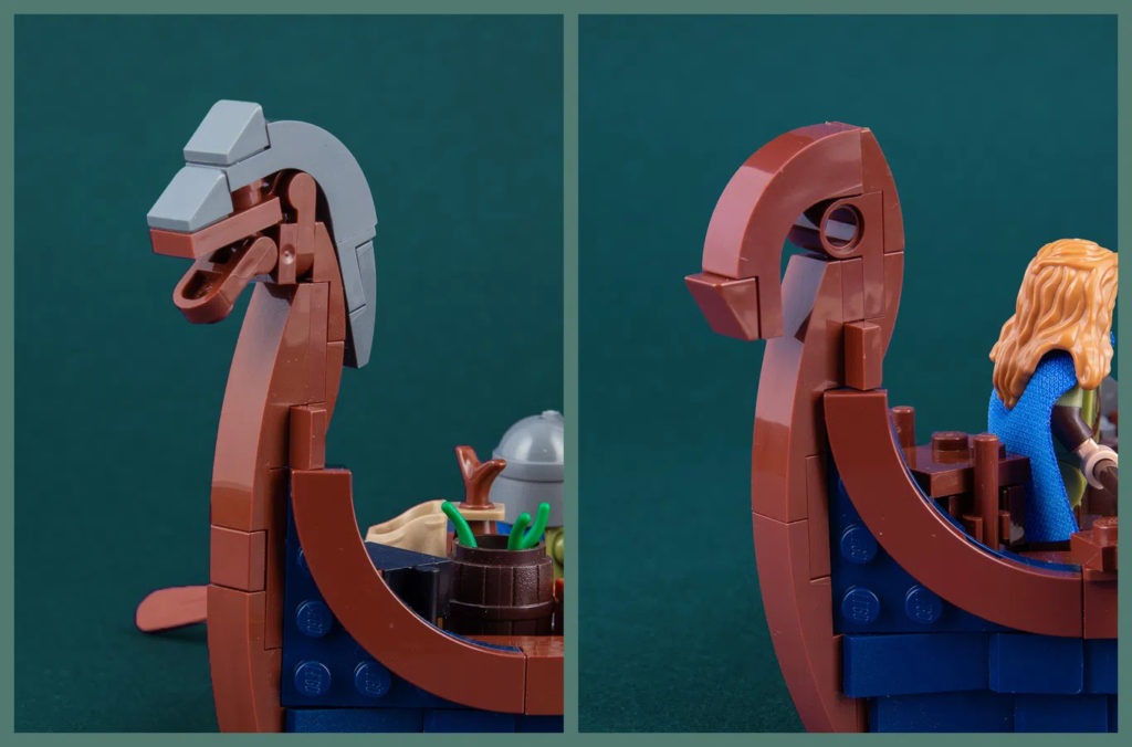 LEGO Ideas Viking Longship Figurehead