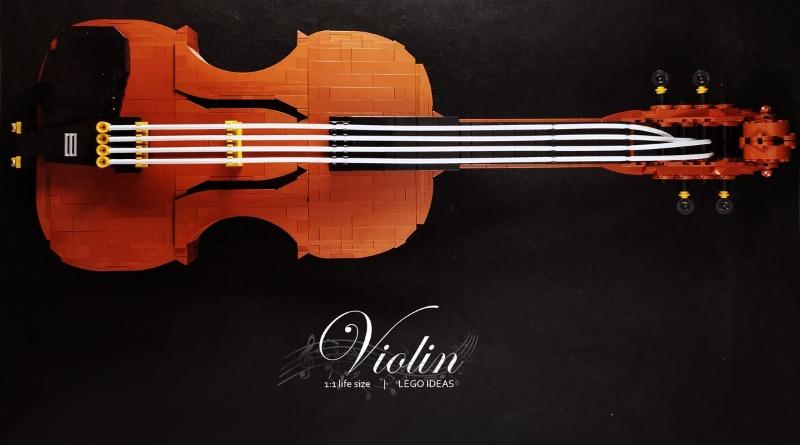 LEGO Ideas Violin Featured