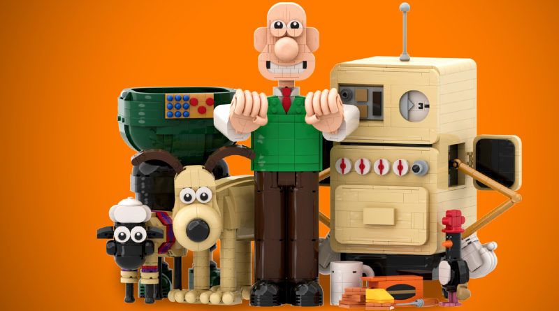 LEGO Ideas Wallace And Gromit Featured 800x445