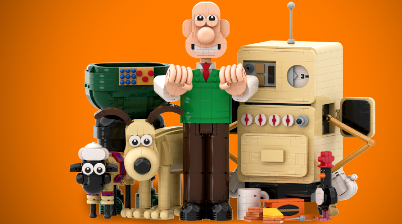 LEGO Ideas Wallace And Gromit Featured