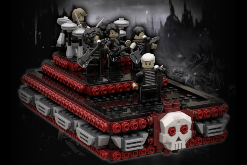 LEGO Ideas Welcome To The Black Parade 1