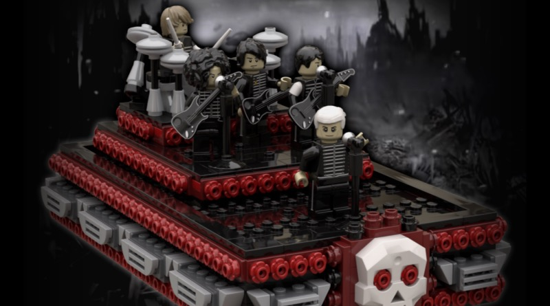 LEGO Ideas Welcome To The Black Parade Featured
